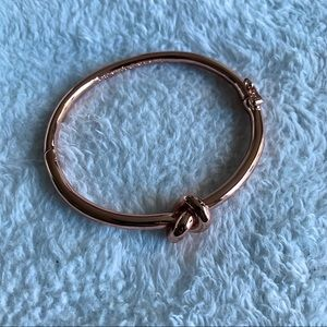 Rose Gold Love Me Knot Kate Spade Bracelet